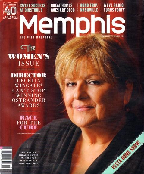 Memphis Cover - 10/1/2016