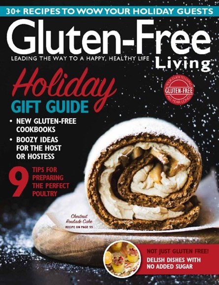 Gluten-Free Living Cover - 10/1/2016