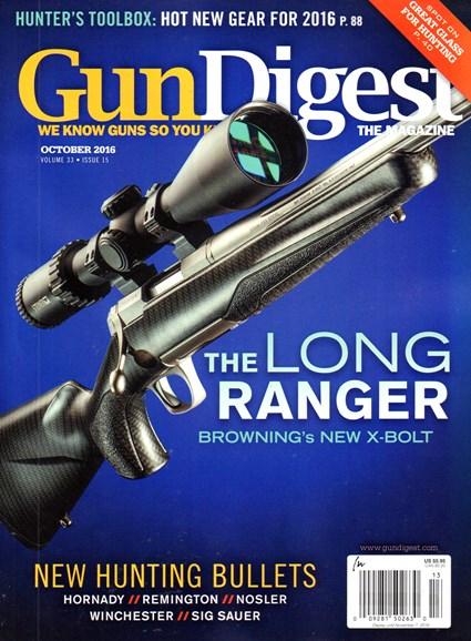Gun Digest Cover - 10/1/2016