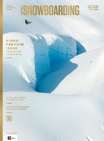 Transworld SNOWboarding Cover - 10/1/2016