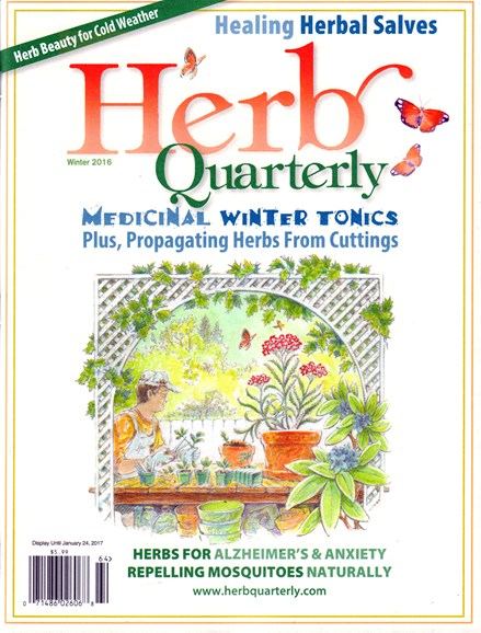 Herb Quarterly Cover - 12/1/2016