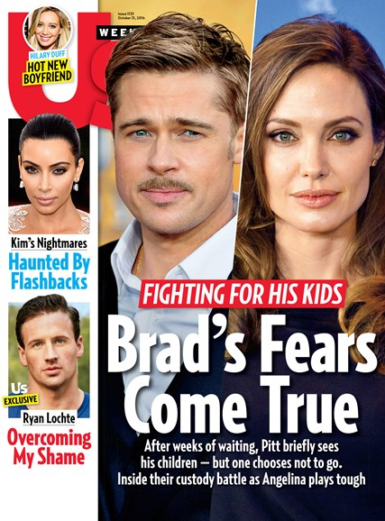 Us Weekly Cover - 10/31/2016