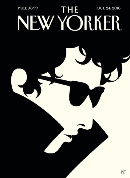 The New Yorker Cover - 10/24/2016