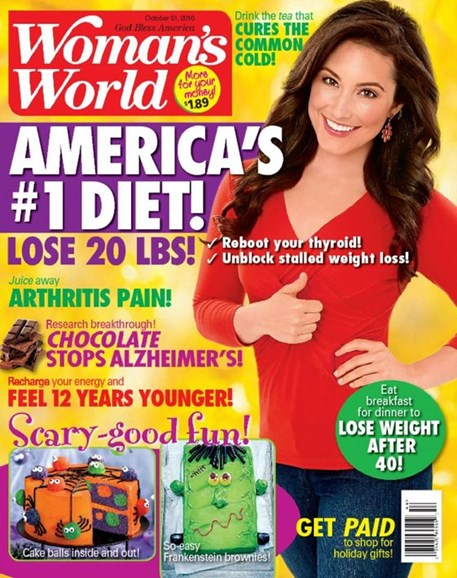 Woman's World Cover - 10/31/2016