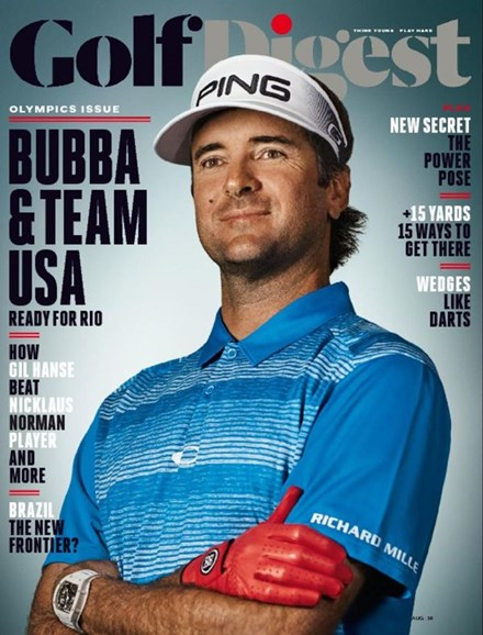 Golf Digest Cover - 8/1/2016