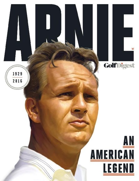 Golf Digest Cover - 10/15/2016
