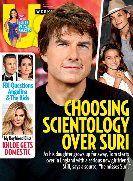 Us Weekly Cover - 11/7/2016