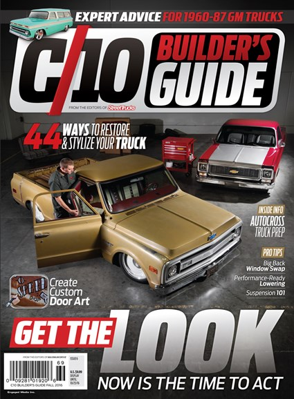 C10 Builders Guide Cover - 9/1/2016