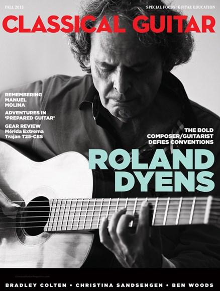 Classical Guitar Cover - 9/1/2015
