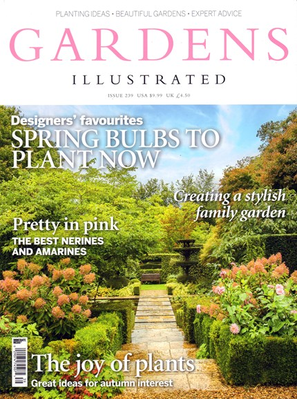 Gardens Illustrated Cover - 10/1/2016