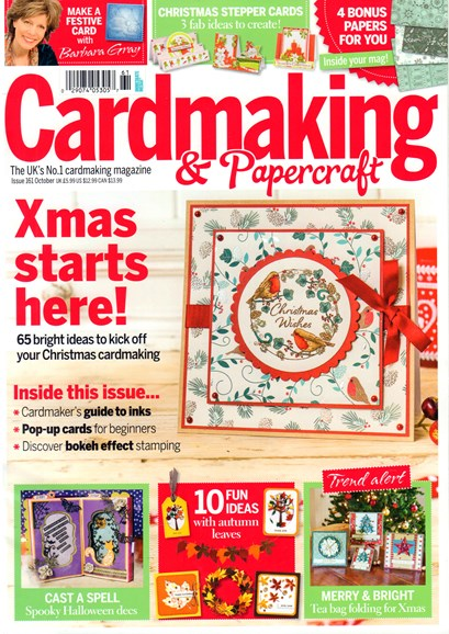 CardMaking & PaperCrafts Cover - 10/1/2016
