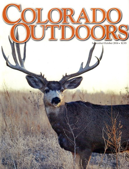 Colorado Outdoors Cover - 9/1/2016