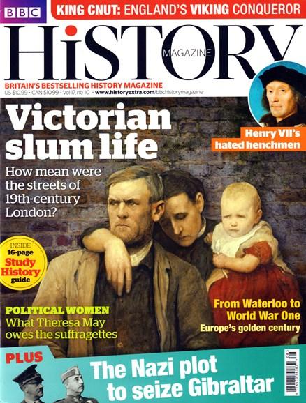 BBC History Cover - 10/1/2016