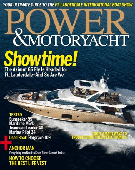 Power & Motoryacht Cover - 11/1/2016