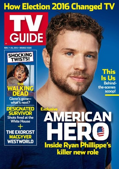 TV Guide Cover - 11/7/2016