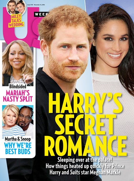 Us Weekly Cover - 11/14/2016