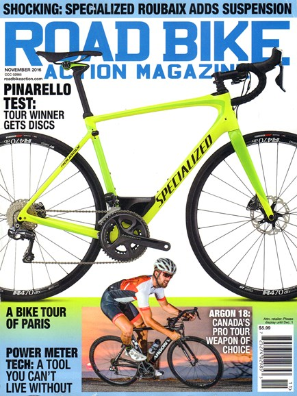 Road Bike Action Cover - 11/1/2016
