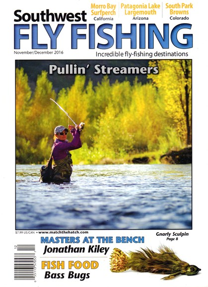 Southwest Fly Fishing Cover - 11/1/2016