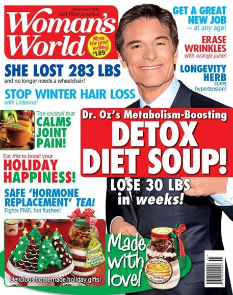 Woman's World Cover - 11/7/2016