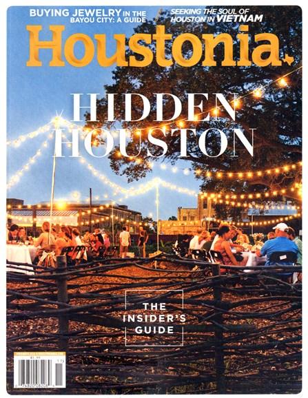 Houstonia Cover - 11/1/2016
