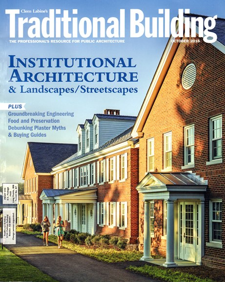 Traditional Building Cover - 10/1/2016