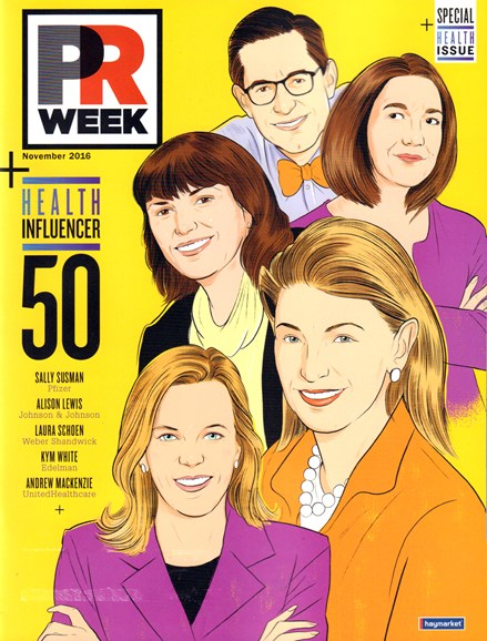 PRWeek Cover - 11/1/2016