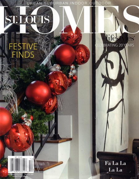 St. Louis Homes & Lifestyles Cover - 11/1/2016
