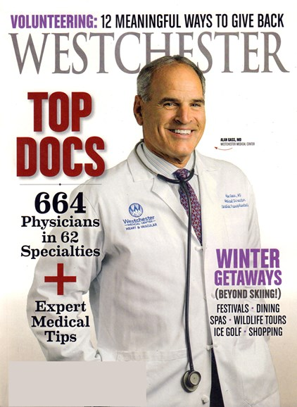 Westchester Magazine Cover - 11/1/2016