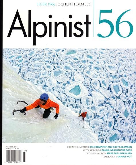 Alpinist Cover - 12/1/2016