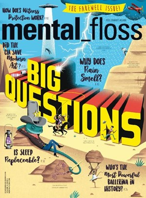 Mental Floss Magazine | 11/1/2016 Cover