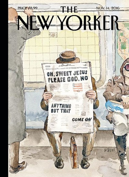 The New Yorker Cover - 11/14/2016