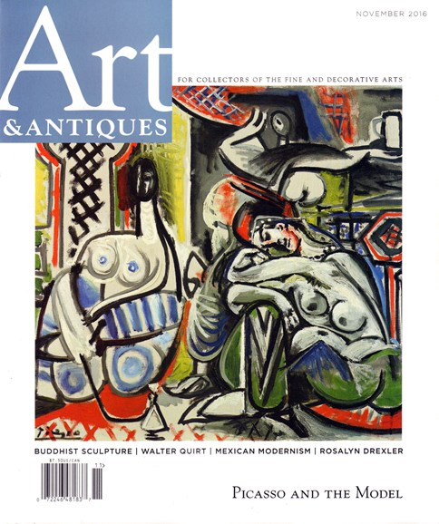 Art & Antiques Cover - 11/1/2016