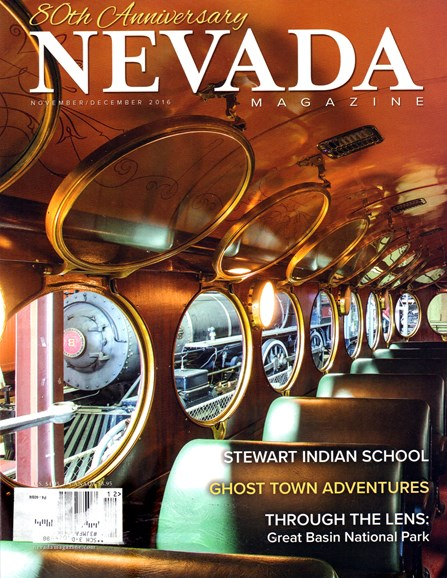 Nevada Magazine Cover - 11/1/2016
