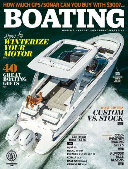 Boating Cover - 11/1/2016