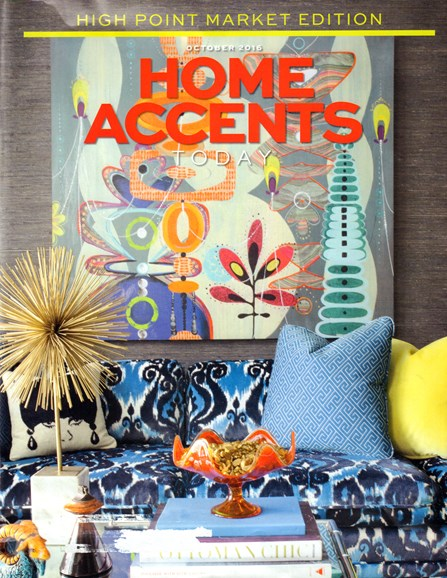 Home Accents Today Cover - 10/1/2016