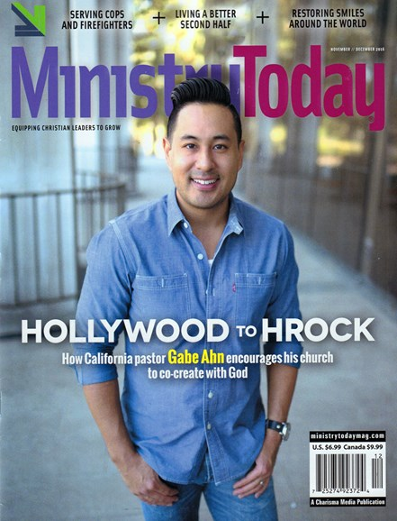 Ministry Today Cover - 11/1/2016