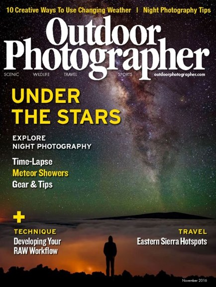 Outdoor Photographer Cover - 11/1/2016