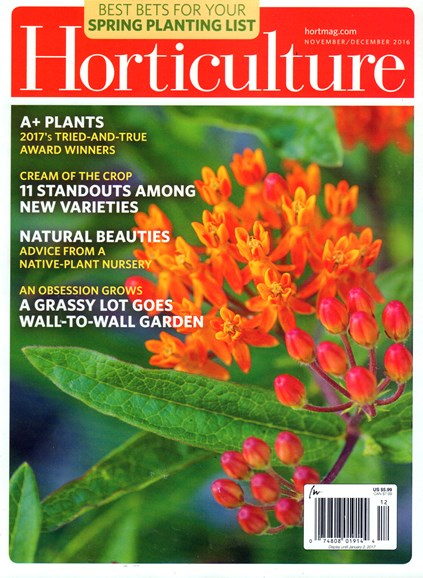 Horticulture Cover - 11/1/2016