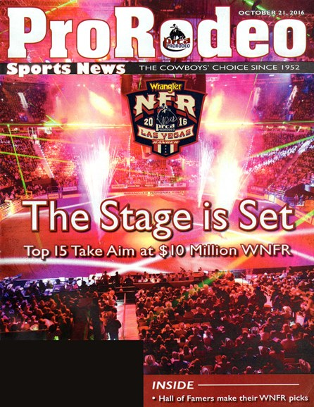 Pro Rodeo Sports News Cover - 10/21/2016