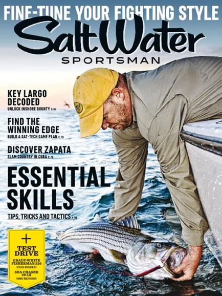 Salt Water Sportsman Cover - 11/1/2016