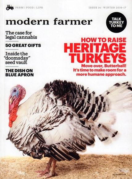 Modern Farmer Cover - 12/1/2016