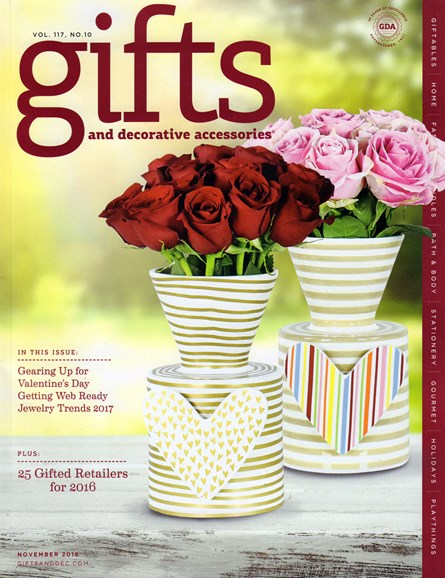 Gifts And Decorative Accessories Cover - 11/1/2016