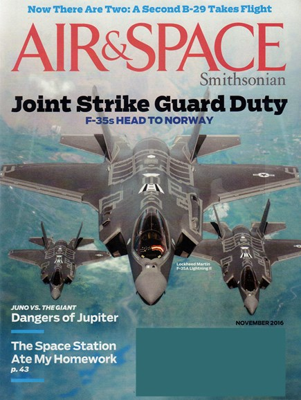 Air & Space Cover - 11/1/2016