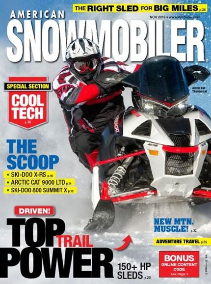 American Snowmobiler Cover - 11/1/2016
