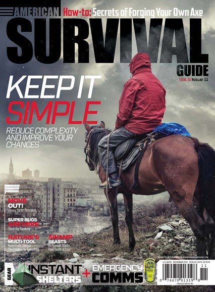 American Survival Guide Cover - 11/1/2016