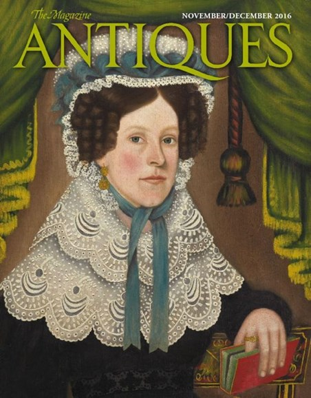 The Magazine Antiques Cover - 11/1/2016