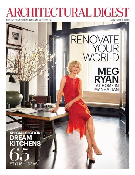 Architectural Digest Cover - 11/1/2016