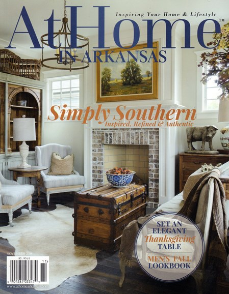 At Home In Arkansas Cover - 11/1/2016