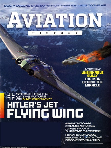Aviation History Cover - 11/1/2016