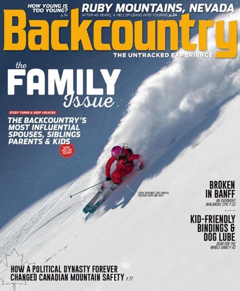 Backcountry Cover - 11/1/2016